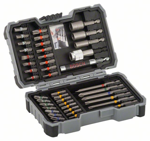 Bosch Bit- und Steckschlüssel-Set 43-teilig