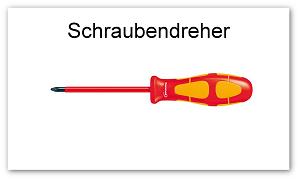 BWL Schraubenzieher Format