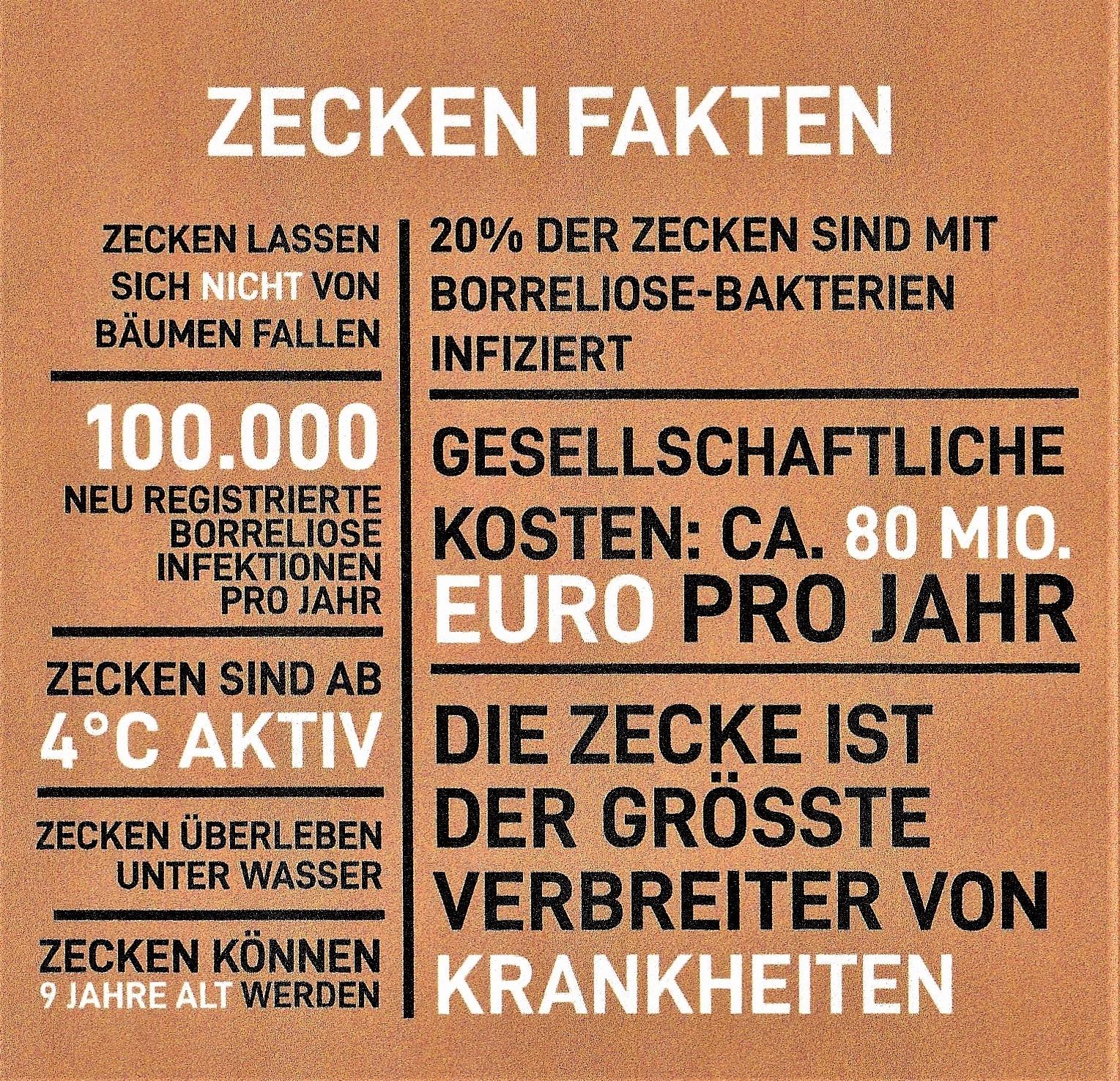 Zeckenfakten Deutschland