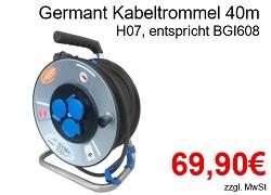 Germant Kabeltrommel G4672