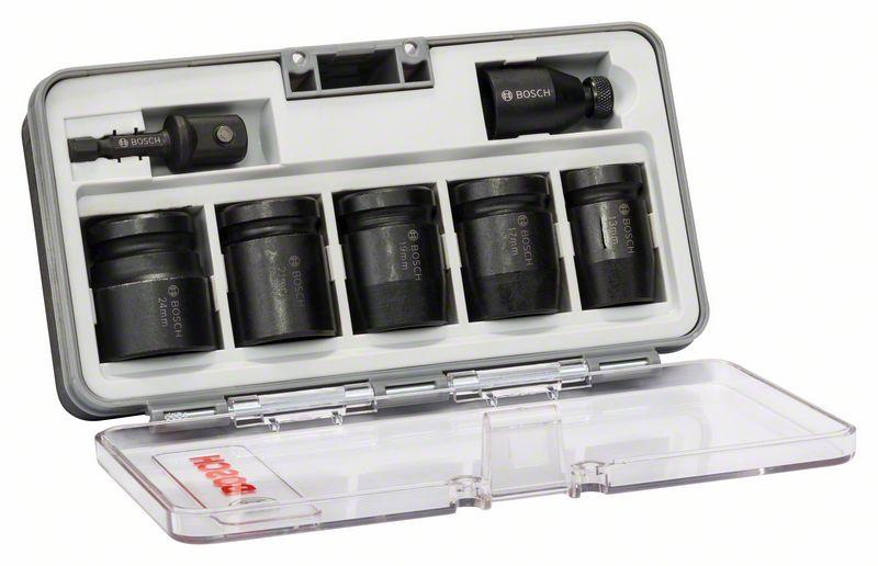 Bosch Steckschlüsseleinsätze-Set 7-teilig
